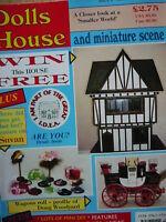 DOLLS HOUSE AND MINIATURE SCENE MAGAZINE ISSUE 6 - MINI GARDENING