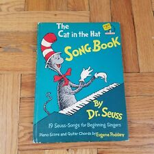 The Cat in the Hat Song Book by Dr. Seuss ~ 1967 1st Edition ~ Rare ~ Music Book