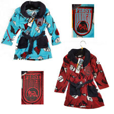 Star Wars® First Order® Bademantel, Kindermantel, Morgenmantel, rot,blau,104-140
