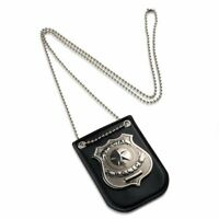 Police Badge For Kids - Pretend Play NYPD Badge With Chain By Dress Up America