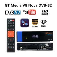 Receptor de señal de TV por satélite Combo GTMEDIA Combo HD WiFi HDR Set-top Box