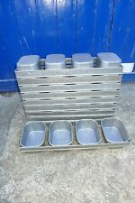 More details for 1x fbs 0407 quad 4 strap baking loaf bread tin strapped bakery catering bakers