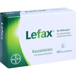 Lefax Kautabletten 100 Stück PZN 00622109