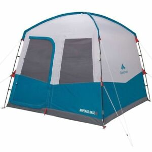 Quechua Aufenthaltszelt Mit Türen 6 Personen Moskitonetzen Wurfzelt campingzelt