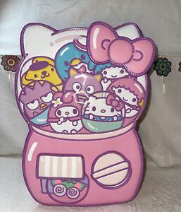 Loungefly Sanrio Hello Kitty And Friends Gumball Machine Mini Backpack NWT