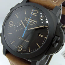 PANERAI PAM 580 CERAMIC 44 mm LUMINOR 1950 3 DAYS CHRONO FLYBACK BLACK PAM 00580