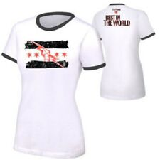 CM Punk Best In The World White Ringer Womens t-shirt