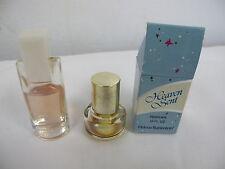 HEAVEN SENT PERFUME .12 BOTTLE BOX HELENA RUBINSTEIN & LIZ CLAIBORNE MINIATURE
