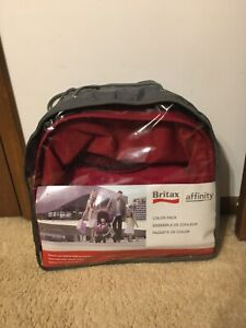 NEW! Britax Affinity Red Color Pack Complete! Works with Affinity Stroller