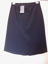 NWT FENDI Stretch Silk Nylon BLACK Skirt Size 44 Italy US Made in Italy