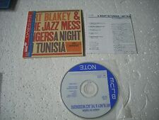 ART BLAKEY and THE JAZZ MESSENGERS - A NIGHT IN TUN... - JAPAN CD MINI LP opened