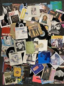 """200+ Vinyl 7"""" SINGLES Job Lot - 1960's / 1970's / 1980's - unsorted / untested"""