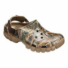 New Men's Crocs Off Road Realtree Max-5 Camo, Clogs/ Comfort Shoes Men 7/ W 9