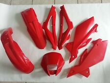 KIT PLASTICHE HUSQVARNA CR WR 125 2006 2007 2008 5 PZ COLORE ROSSO