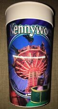 1990s Kennywood Park Pittsburgh Wave Swinger Phantom Lenticular Moving Image Cup