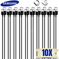 Bulk Lot OF 10X USB C Type C Cable Fast Charge Android Samsung Charger Data Cord
