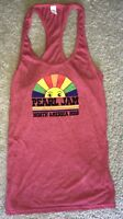 Pearl Jam ladies tank top t shirt racer large 2018 tour seattle chicago boston