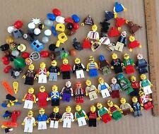 Lego Star Wars City vintage big lot 32 mini figures play set parts accessories