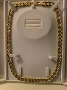 Men's gold chain (18K, 56.97grams) with receipts