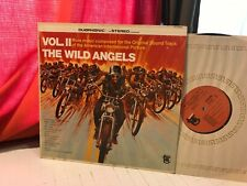 MIKE CURB AND THE ARROWS THE WILD ANGELS VOL. II SOUNDTRACK LP '67 DT-5056 DUOPH