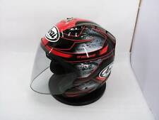 RARE!! ARAI GENUINE OEM SZ-RAM4 CHRONUS RED FULL FACE HELMET M SIZE