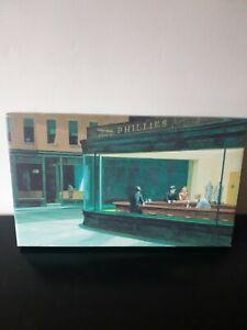 Edward Hopper Canvas Print - The Nighthawks