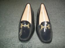 Womens Size 37 Black  Patent Leather Shoe