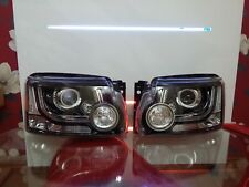 NEW GENUINE Land Rover Discovery 4 Xenon LED Headlights EU Spec LHD