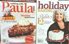 2 Paula Deen Fall & Christmas Baking Magazines 2012 Issues