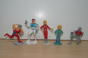 CAPTAIN FUTURE Complete Set  PVC Figure Figurine Toei Doga Schleich 1980