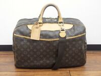 LOUIS VUITTON ALIZE 24 HEURES 2WAY TRAVEL HAND BAG MONOGRAM M41399 LV Used