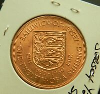 1960 JERSEY 1/12 SHILLING - Beautiful Bronze Coin - See Pictures
