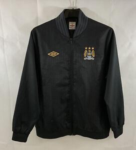 Manchester City Football Training Jacket 2011/12 Adults Large Umbro C15