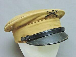1902 Summer Service Dress Cap U.S. 7th Infantry, Sz 7-3/8, Stamped inside