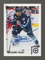 2012-13 Fleer Retro Autographs #2 Evander Kane