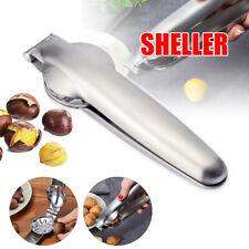 Stainless Steel Chestnut Clip Plier Chestnut Sheller Nut Cracker Walnut Opener