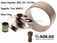 Solas Sea Doo 4-Tec Impeller W/ Wear Ring & Tool SRZ-CD-14/19A GTR RXP 215