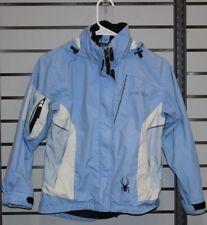 Spyder Xscap Shell Jacket Kids size 10 Blue/White
