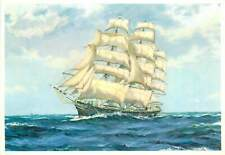 The Square Riggers ( The Cutty Sark ) ship postcard