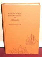 Finding Your Forefathers in America by Archibald F. Bennett 1957 1SED LDS Mormon