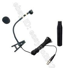 Pro Clip Instrument de Musique Microphone Pour sax.trumpet, laiton, bois etc...