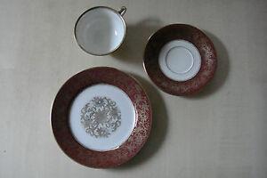 antik? Rosenthal Kronach Elfenbein Sammelgedeck 3tlg. Teller Untertasse Tasse