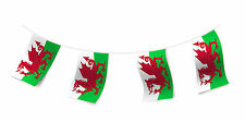 Wales Flag Bunting Welsch Rugby Nation Football Banner St Davids Decoration 10m