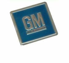 1969-72 GM Embossed Metal Foil Door Jamb Adhesive Decal Badge Blue SS W30 Judge