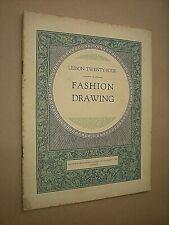 FASHION DRAWING. AUDREY WYNNE HATFIELD & BARRETT. ART LESSON no.24 circa 1920's