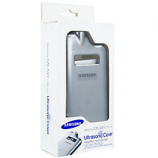SAMSUNG COVER ULTRASONIC ORIGINALE per GALAXY CORE ADVANCE GT i8580 GRIGIA