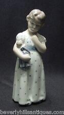 Royal Copenhagen Porcelain Little Girl with Doll #3539