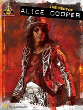 The Best of Alice Cooper Sheet Music Guitar Tablature Book NEW 000691091