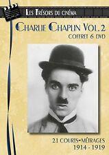 Coffret 6 DVD Charlie Chaplin : 21 Courts-métrages / 1914 - 1919 - Volume 2