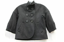 BCBG Max Azria 70% Wool Short Bodied Peacoat Womens Size XXS Excellent Used 1725